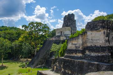 Tikal Maya Ruinen in Guatemala