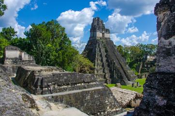 Wall Mural - Tikal Ruins in Guatemala