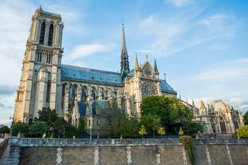 Norte Dame Cathedral de Paris. France
