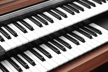 Wall Mural - piano keyboard