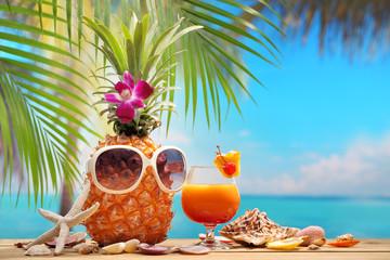 summer vacation on beach