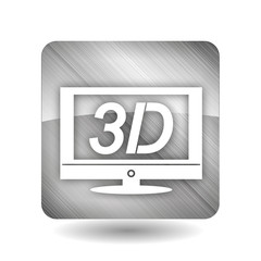 3D TV Icon