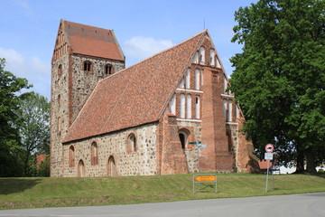 Mittelalterliche Wehrkirche in Königsberg bei Wittstock
