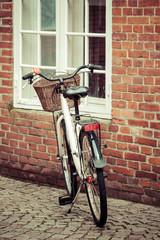 Bike in the Streets of ribe,Denmark