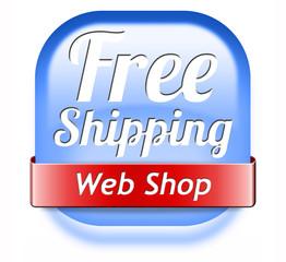 free shiping web shop