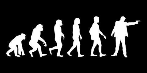 Vom Affen zum (Menschen) Schutzmann