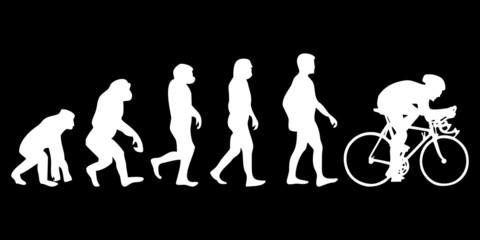 Vom Affen zum (Menschen) Radfahrer
