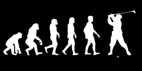 Vom Affen zum (Menschen) Golfer
