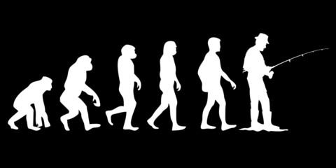Vom Affen zum (Menschen) Angler