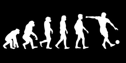 Vom Affen zum (Menschen) Fussballer