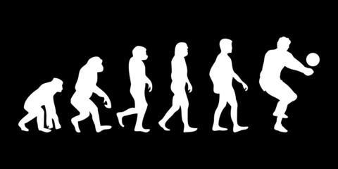 Vom Affen zum (Menschen) Handballer