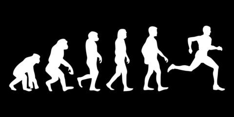 Vom Affen zum (Menschen) Läufer
