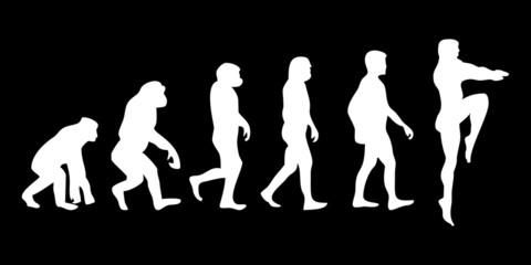 Vom Affen zum (Menschen) Turmspringer