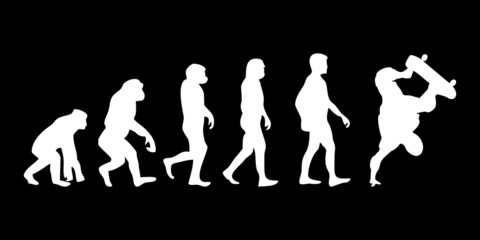 Vom Affen zum (Menschen) Skater
