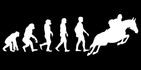 Vom Affen zum (Menschen) Reiter