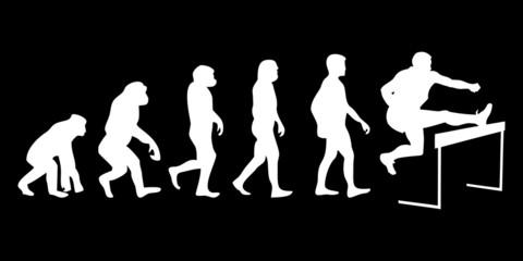 Vom Affen zum (Menschen) Hürdenläufer