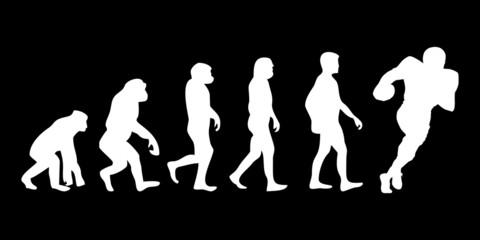 Vom Affen zum (Menschen) Football Spieler