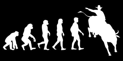 Vom Affen zum (Menschen) Bullrider