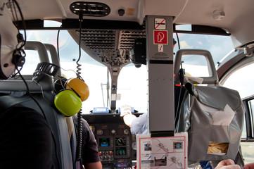 Rettungshubschrauber Cockpit Pilot Rettung