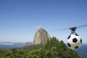Sugarloaf Mountain Football Cable Car Rio