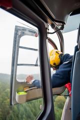 Rettungsdienst Cockpit Rettungshubschrauber