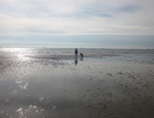 Spaziergang im Watt