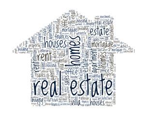 Imagini pentru real estate word cloud