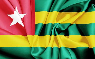 Fahne von Togo