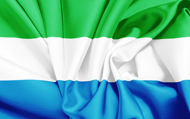 Flagge von Sierra Leone