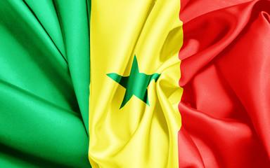 Senegal Flagge
