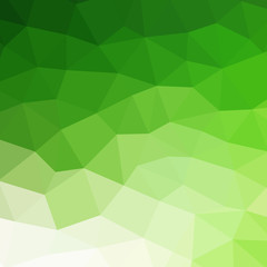 Abstract green colorful geometric background