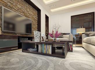 Living room modern style