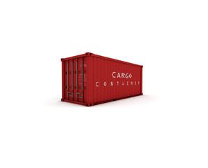 container rosso chiuso