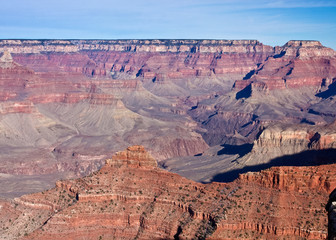 The Ridges of the Grand Canyon
