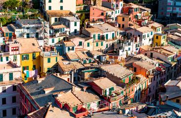 View of Vernazza. Italian Riviera