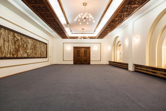 empty wedding hall