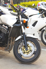 Front motorcycle wheel