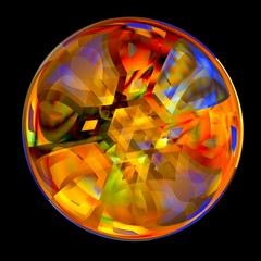 Crystal Marble - Fortune Telling - Colorful Ball