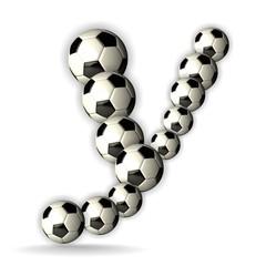 Image result for Soccer Alphabet Y