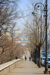 Landscape of Vladivostok. Russia.