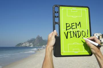 Brazil Bem-Vindo Welcome Message Rio