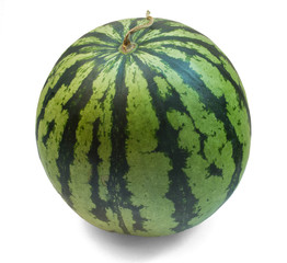 Water melon on white background.