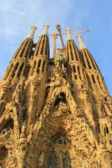 Cathédrale Sagrada Familia à Barcelone ( Catalogne, Espagne)