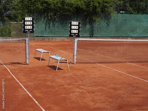 Spielstand Beim Tennis
