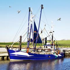 Krabbenfischerei in Wremen