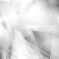 Abstract polygonal gray background