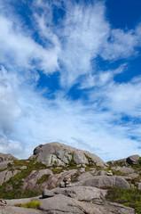 Gebirge Felsen in Norwegen