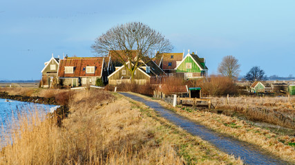 Marken a small village in The Netherlands