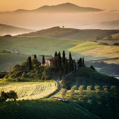 Wall Mural - Toscana, paesaggio rurale