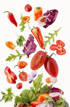 verdure miste fresche